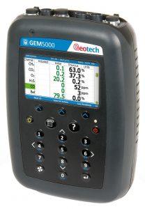 Analyzátor skládkového plynu a bioplynu GEM5000